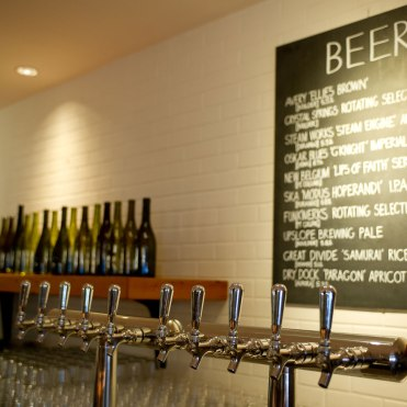 Beer Taps. Photo: Davis Tilly Photography
